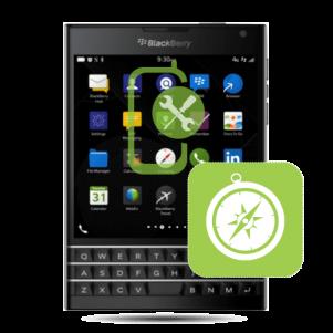 BlackBerry Passport Compass Repair