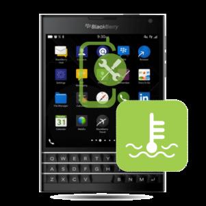 BlackBerry Passport Overheating